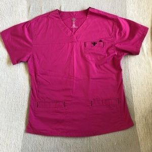 NWOT! Med Couture scrub top woman's small